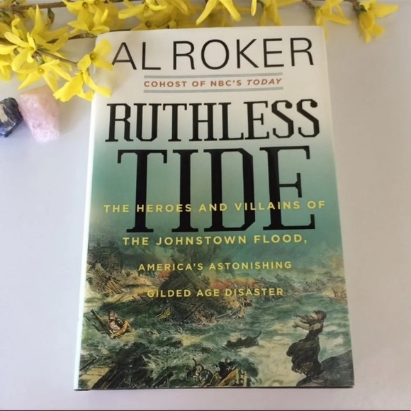 "Other - ""Ruthless Tide"" History Nature Hard cover Book"